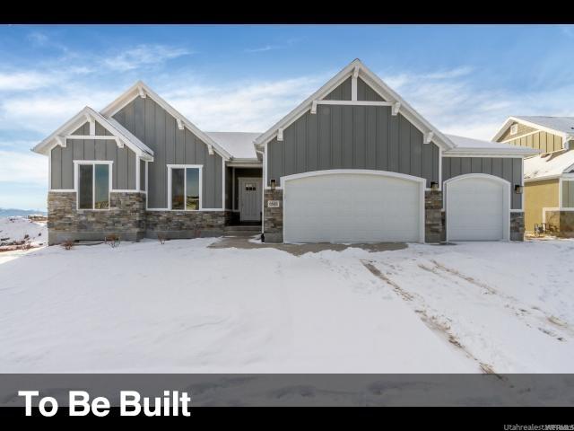单亲家庭 为 销售 在 6546 W THISTLE Ridge 西约旦, 犹他州 84081 美国