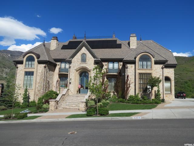 Unique la famille pour l Vente à 14241 S CANYON VINE CV Draper, Utah 84020 États-Unis