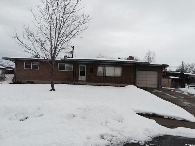 单亲家庭 为 销售 在 2198 N 350 W Sunset, 犹他州 84015 美国