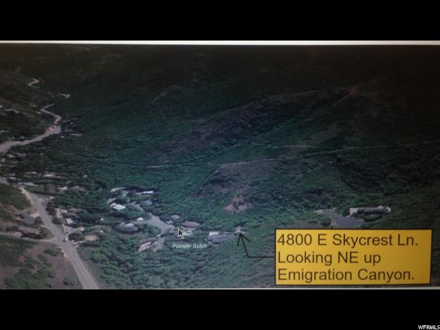 أراضي للـ Sale في 145 S SKYCREST Lane 145 S SKYCREST Lane Emigration Canyon, Utah 84108 United States