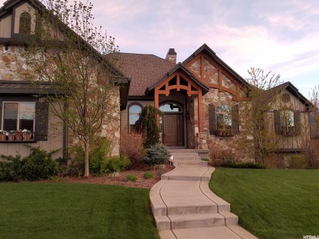 单亲家庭 为 销售 在 4665 W SADDLEBACK Lane Mountain Green, 犹他州 84050 美国
