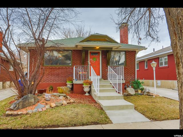 Home for sale at 631 Downington Ave, Salt Lake City, UT  84105. Listed at 324900 with 2 bedrooms, 1 bathrooms and 1,250 total square feet