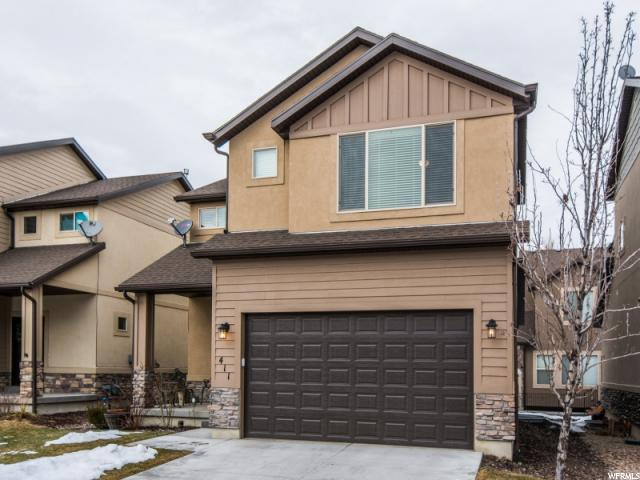 Home for sale at 411 E Kelsey View Ln, Salt Lake City, UT  84115. Listed at 324900 with 3 bedrooms, 3 bathrooms and 2,492 total square feet