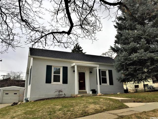 Home for sale at 273 G St, Salt Lake City, UT  84103. Listed at 319900 with 2 bedrooms, 1 bathrooms and 1,446 total square feet