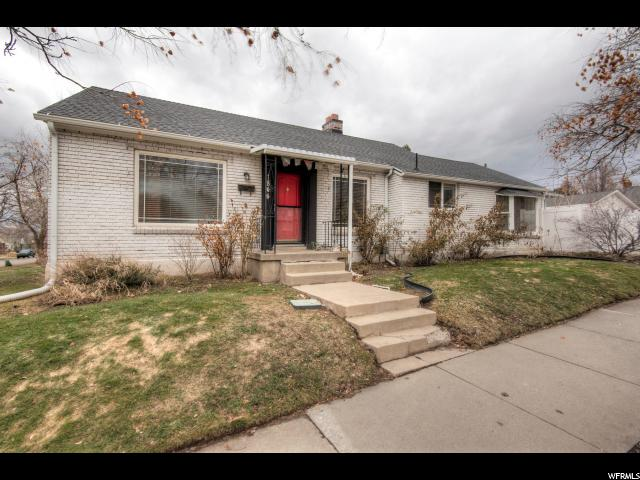 Home for sale at 1844 S 1700 East, Salt Lake City, UT  84108. Listed at 319000 with 4 bedrooms, 2 bathrooms and 2,238 total square feet