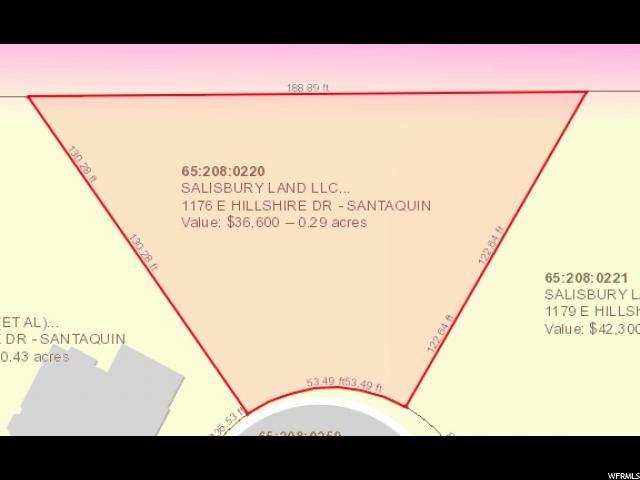 1176 E HILLSHIRE DR Santaquin, UT 84655 - MLS #: 1430204