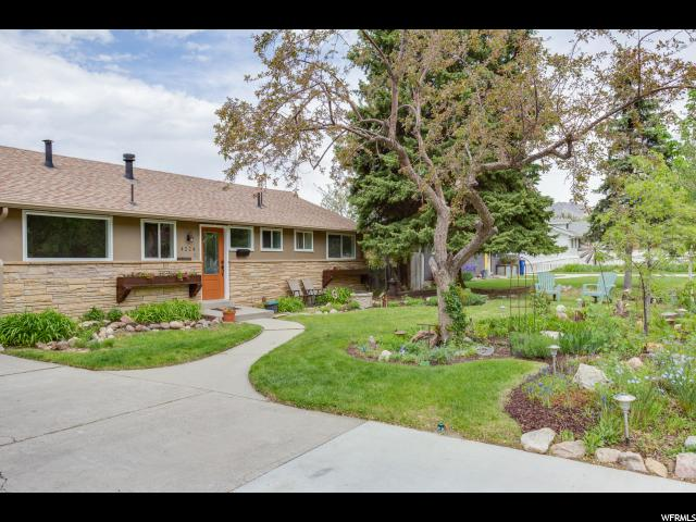 Home for sale at 4224 S Sunset View Dr, Salt Lake City, UT  84124. Listed at 429900 with 5 bedrooms, 3 bathrooms and 2,244 total square feet