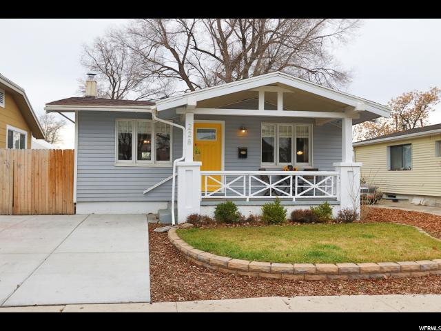 Home for sale at 228 E Coatsville Ave, Salt Lake City, UT  84115. Listed at 229000 with 2 bedrooms, 1 bathrooms and 1,036 total square feet