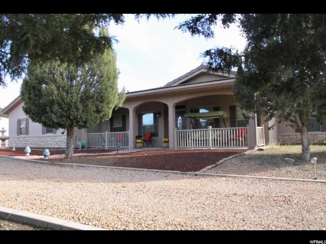 Один семья для того Продажа на 684 PINION HILLS Drive Dammeron Valley, Юта 84783 Соединенные Штаты