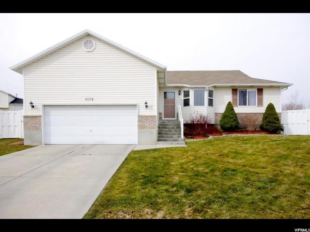 6078 W OQUIRRH RIDGE CT, West Jordan UT 84081