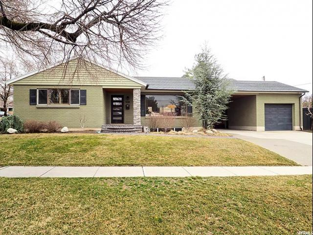 Home for sale at 1571 S 2200 East, Salt Lake City, UT  84108. Listed at 534900 with 4 bedrooms, 2 bathrooms and 2,120 total square feet