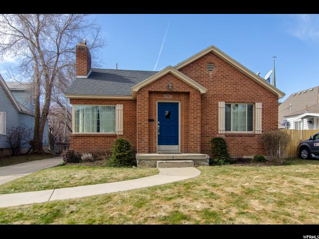 Home for sale at 2630 S Filmore St, Salt Lake City, UT  84106. Listed at 410000 with 4 bedrooms, 2 bathrooms and 2,040 total square feet
