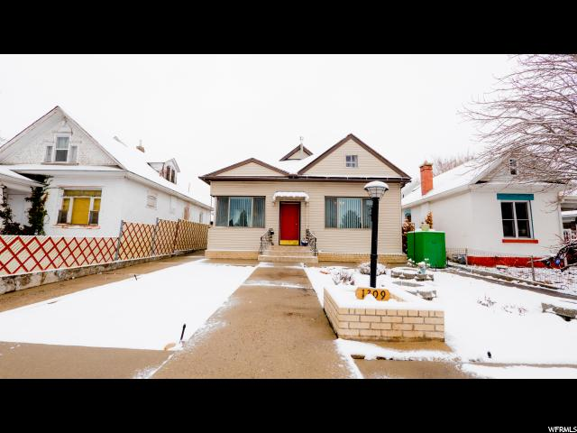Home for sale at 1309 S 1100 East, Salt Lake City, UT  84105. Listed at 315000 with 2 bedrooms, 1 bathrooms and 1,443 total square feet