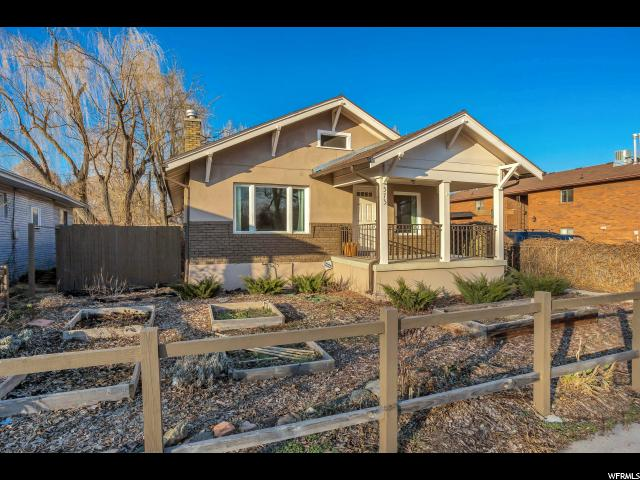 Home for sale at 573 E 2700 South, Salt Lake City, UT  84106. Listed at 269900 with 3 bedrooms, 1 bathrooms and 1,700 total square feet