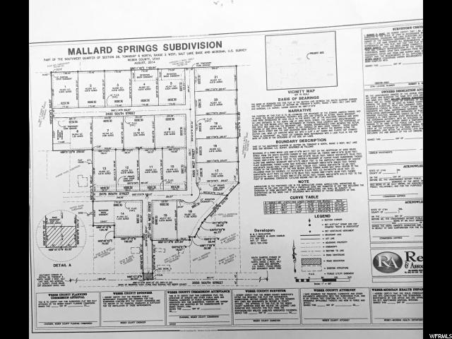 土地 为 销售 在 3991 W 2475 S Taylor, 犹他州 84401 美国