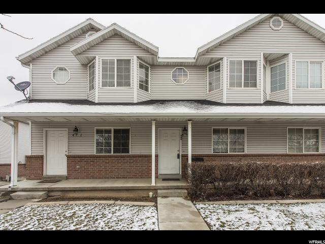 Casa unifamiliar adosada (Townhouse) por un Venta en 474 E 475 N Ogden, Utah 84404 Estados Unidos