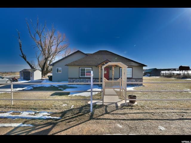 单亲家庭 为 销售 在 17929 W 3000 N Boneta, 犹他州 84001 美国