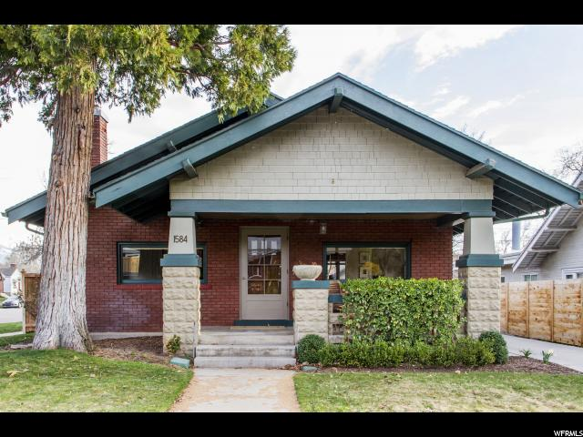 Home for sale at 1584 Harrison, Salt Lake City, UT  84105. Listed at 564900 with 3 bedrooms, 2 bathrooms and 1,984 total square feet