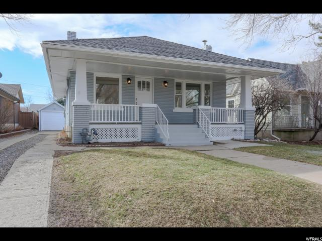 Home for sale at 1424 E Blaine Ave, Salt Lake City, UT  84105. Listed at 480000 with 3 bedrooms, 2 bathrooms and 1,900 total square feet