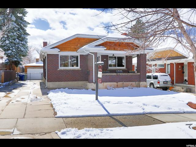 Home for sale at 1452 E Sherman, Salt Lake City, UT  84105. Listed at 449000 with 3 bedrooms, 2 bathrooms and 1,982 total square feet
