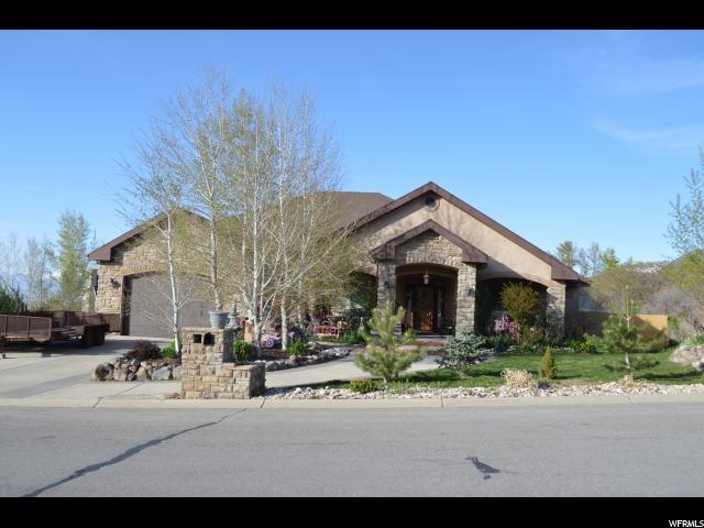单亲家庭 为 销售 在 105 S HILLSIDE Drive Elk Ridge, 犹他州 84651 美国