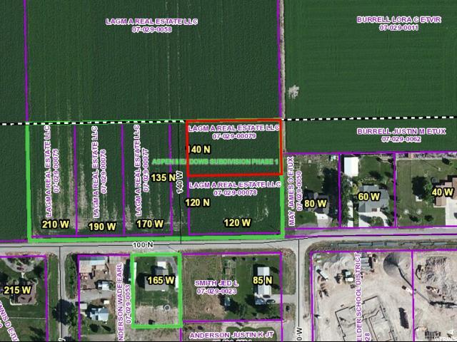 土地 为 销售 在 140 N 140 W Fielding, 犹他州 84311 美国