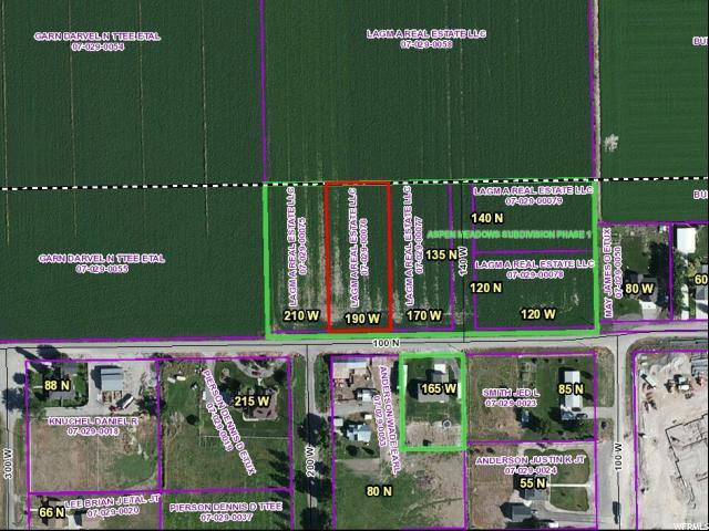 土地 为 销售 在 190 W 100 N Fielding, 犹他州 84311 美国
