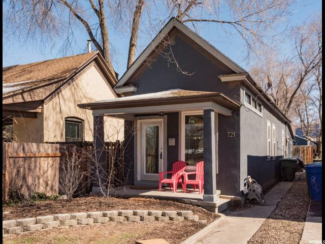 Home for sale at 721 S 800 East, Salt Lake City, UT  84102. Listed at 259900 with 2 bedrooms, 1 bathrooms and 728 total square feet