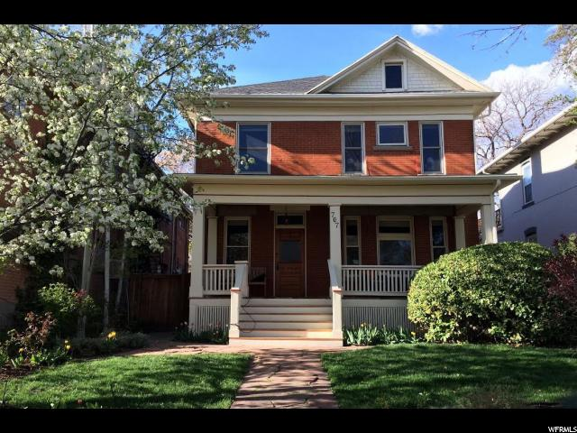 Home for sale at 707 E Second Ave, Salt Lake City, UT 84103. Listed at 575000 with 3 bedrooms, 3 bathrooms and 2,770 total square feet