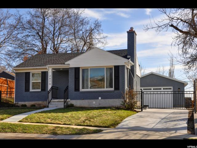 Home for sale at 2470 E Commonwealth Ave, Salt Lake City, UT  84109. Listed at 415000 with 4 bedrooms, 2 bathrooms and 1,760 total square feet