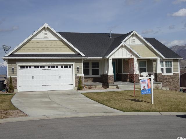 Unique la famille pour l Vente à 583 SUNSET Drive Santaquin, Utah 84655 États-Unis