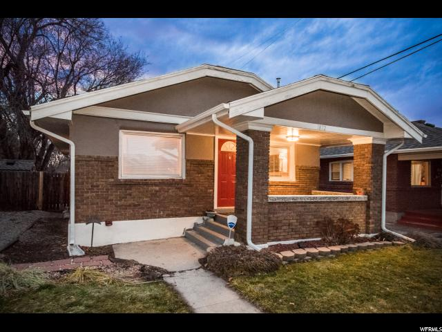 Home for sale at 1872 S 400 East, Salt Lake City, UT  84115. Listed at 269700 with 2 bedrooms, 1 bathrooms and 1,306 total square feet