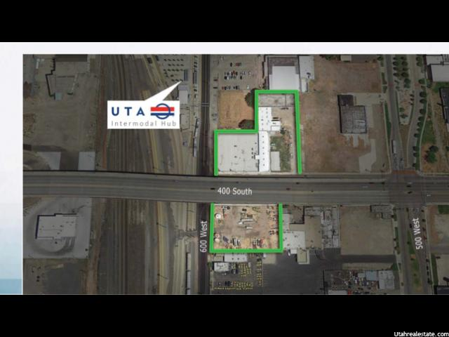 Land for Sale at 571 W 400 S 571 W 400 S Salt Lake City, Utah 84101 United States