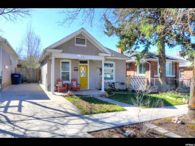 Home for sale at 1172 E Bryan Ave, Salt Lake City, UT  84105. Listed at 310000 with 2 bedrooms, 1 bathrooms and 1,312 total square feet