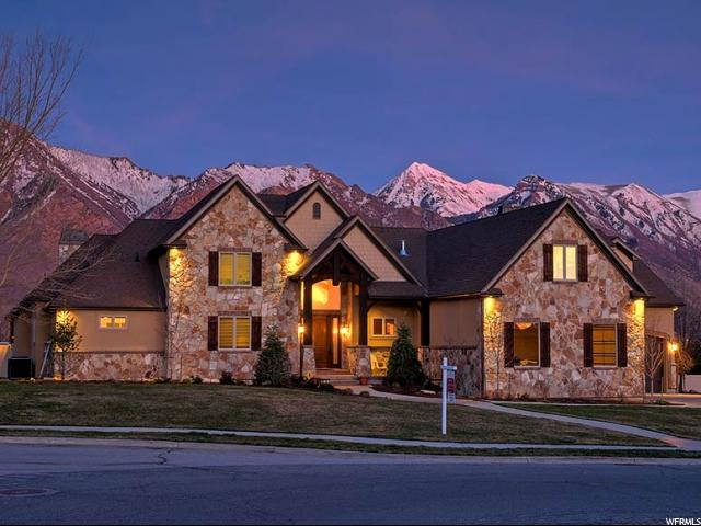 Single Family for Sale at 350 N PFEIFFERHORN Drive Alpine, Utah 84004 United States