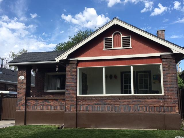 Home for sale at 974 S 500 East, Salt Lake City, UT  84105. Listed at 385000 with 3 bedrooms, 2 bathrooms and 2,272 total square feet