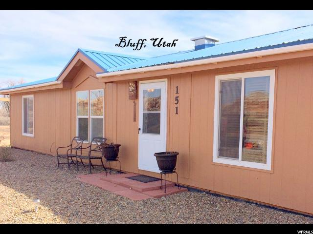 Single Family for Sale at 151 W MAIN Street Bluff, Utah 84512 United States