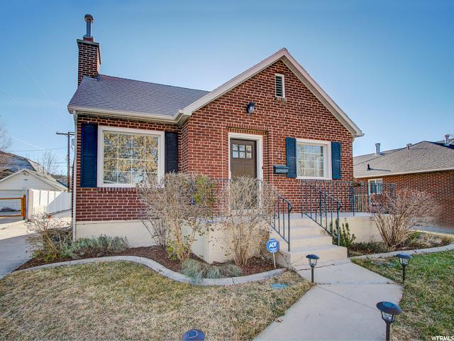 Home for sale at 923 S 1900 East, Salt Lake City, UT  84108. Listed at 480000 with 4 bedrooms, 2 bathrooms and 1,864 total square feet