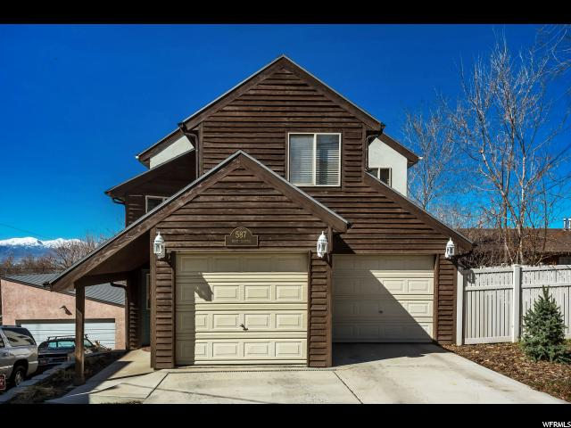 Home for sale at 587 N West Capitol St, Salt Lake City, UT  84103. Listed at 474900 with 3 bedrooms, 3 bathrooms and 2,819 total square feet
