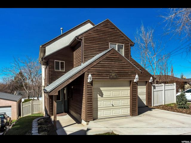 Home for sale at 587 N West Capitol St, Salt Lake City, UT  84103. Listed at 459900 with 3 bedrooms, 3 bathrooms and 2,819 total square feet