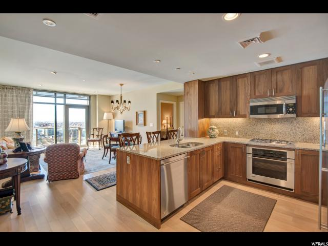 Home for sale at 99 W South Temple St #1605, Salt Lake City, UT  84101. Listed at 449000 with 1 bedrooms, 1 bathrooms and 941 total square feet