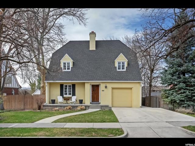 Home for sale at 1584 S 1400 East, Salt Lake City, UT  84105. Listed at 669000 with 4 bedrooms, 3 bathrooms and 2,582 total square feet