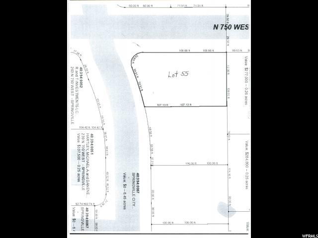 746 W 250 Springville, UT 84663 - MLS #: 1437048