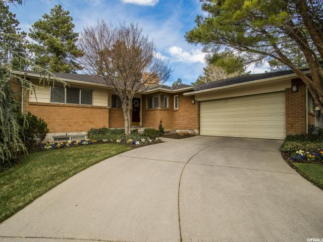 Home for sale at 2839 E Hermosa Way, Holladay, UT 84124. Listed at 489900 with 4 bedrooms, 3 bathrooms and 3,462 total square feet
