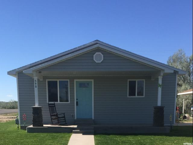Single Family for Sale at 590 E MAIN 590 E MAIN Myton, Utah 84052 United States