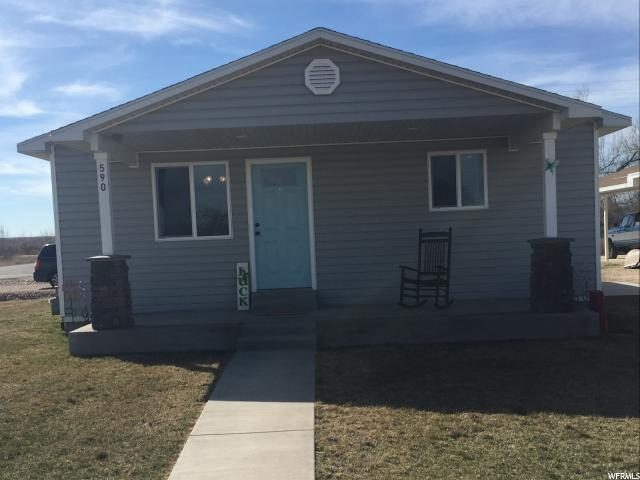 Single Family for Sale at 590 E MAIN Myton, Utah 84052 United States