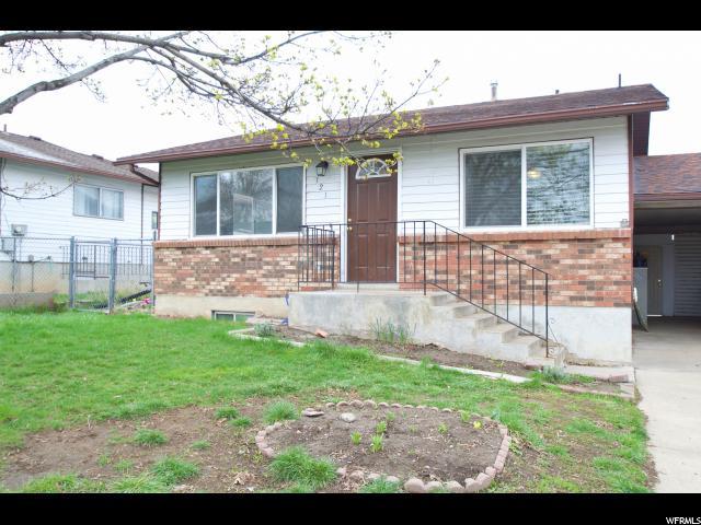 单亲家庭 为 销售 在 121 W 2100 N Sunset, 犹他州 84015 美国