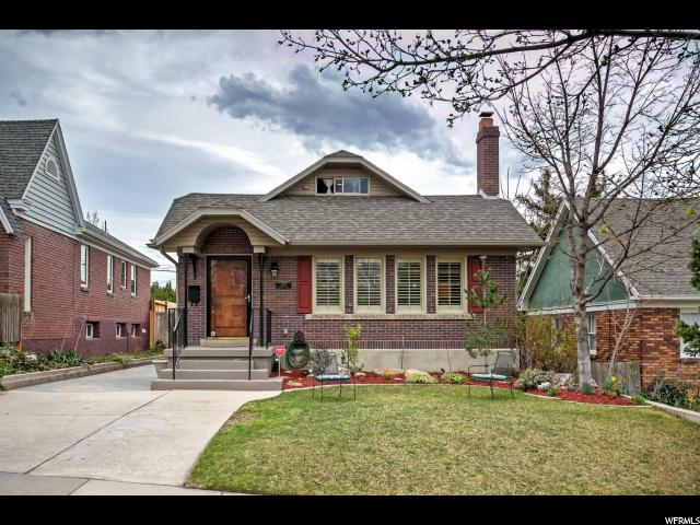 Home for sale at 1324 E Emerson Ave, Salt Lake City, UT  84105. Listed at 550000 with 4 bedrooms, 2 bathrooms and 2,616 total square feet