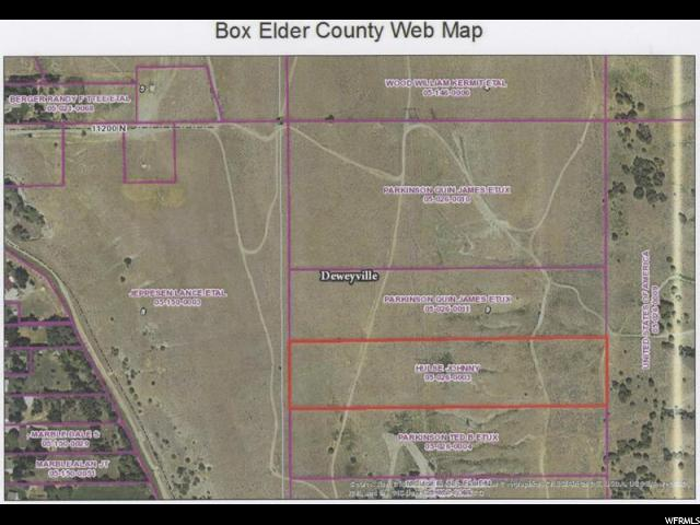 Land for Sale at 11030 N 2750 W Deweyville, Utah 84309 United States