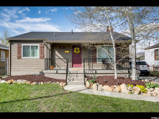265 E GARDEN AVE, Salt Lake City UT 84115